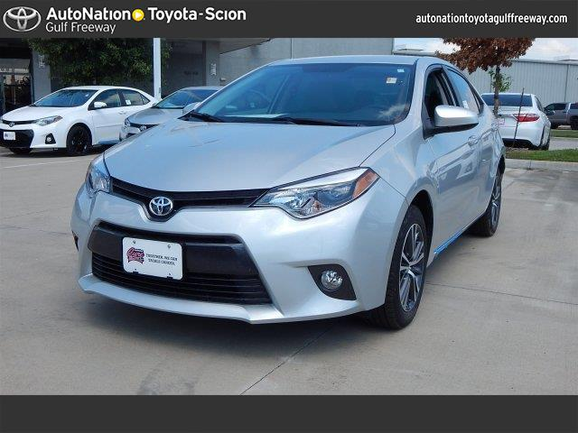 2016 toyota corolla le plus for sale in houston tx cargurus. Black Bedroom Furniture Sets. Home Design Ideas